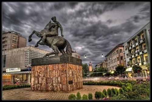 Slavic Veles Statue