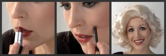 Marilyn Monroe Halloween Makeup