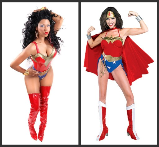 nicki minaj wonder woman