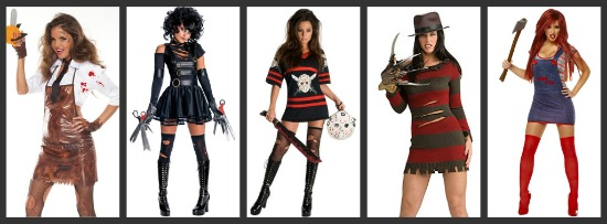 sexy horror halloween costumes