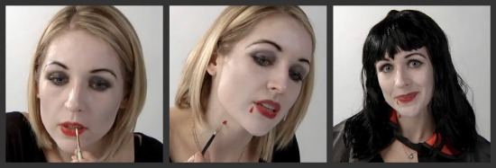 Vampire Costume Makeup Tutorial