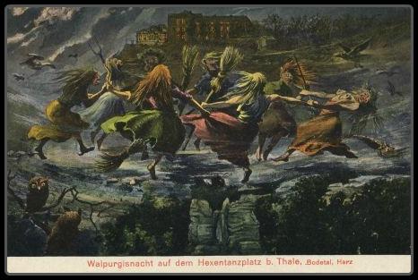 Walpurgisnacht Witch Bonfire