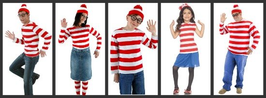 Where's Waldo Halloween Costumes