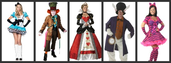 Alice in Wonderland Halloween Costumes