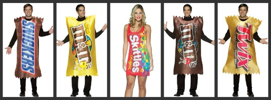 Candy Halloween Costumes