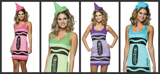Color Crayon Halloween Costumes