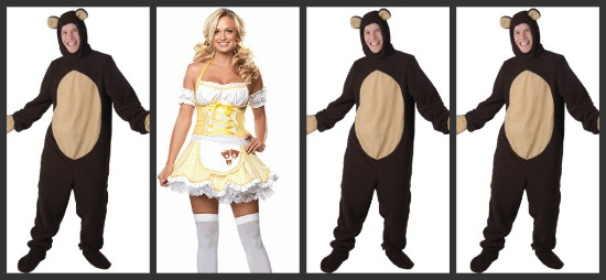 Goldilocks and the Three Bears Halloween Costume
