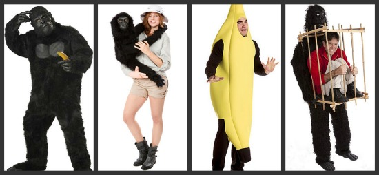 Gorilla Halloween Costumes & Creative Group Costume Ideas - Halloween Costumes Blog