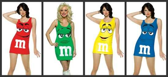 Sexy M&M Halloween Costumes