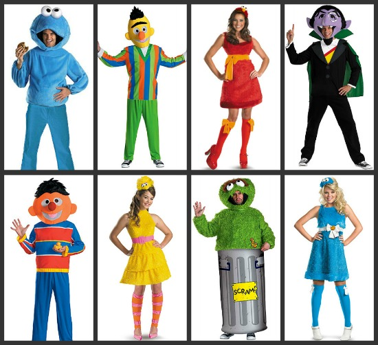 Sesame Street Group Costumes