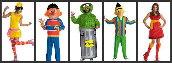 Sesame Street Halloween Costumes