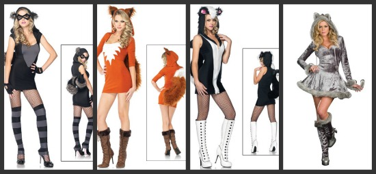 Sexy Animal Halloween Costumes