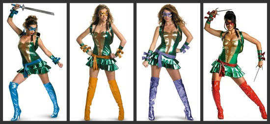 Sexy Ninja Turtles Costumes