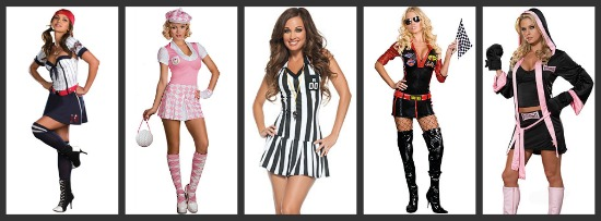 Sexy Sports Halloween Costumes