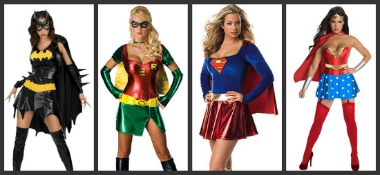 Sexy Superhero Halloween Costumes  sc 1 st  Halloween Costumes & Costume Ideas for Groups of 4: Threeu0027s a Crowd Fouru0027s a Party ...