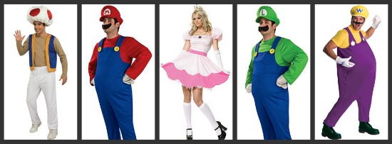 Super Mario Halloween Costumes