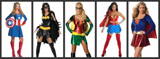 women superhero halloween costumes
