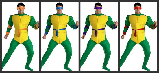 Adult Teenage Mutant Ninja Turtle Costumes