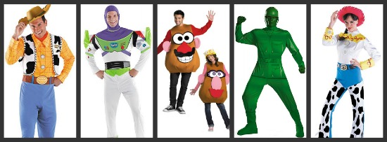 Toy Story Halloween Costumes  sc 1 st  Halloween Costumes & Costume Ideas for Groups of Five - Halloween Costumes Blog