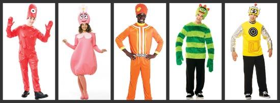 Yo Gabba Gabba Halloween Costumes