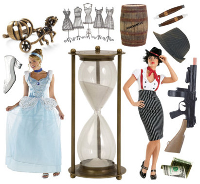 Hourglass Figure Halloween Costumes