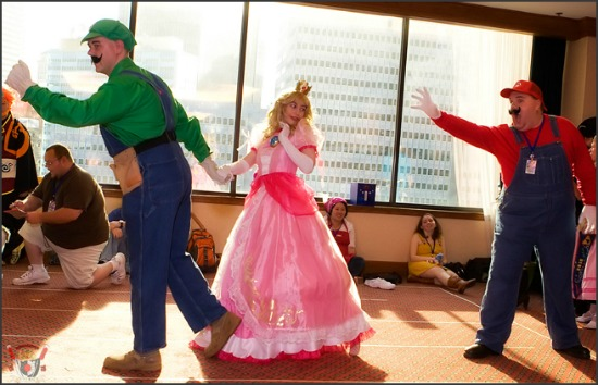 Mario Brothers Cosplay