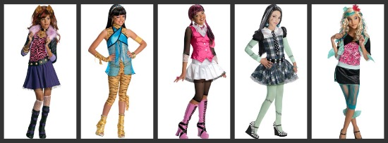 Monster High Halloween Costumes