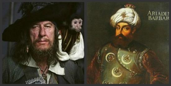 Pirates Barbossa Barbarossa