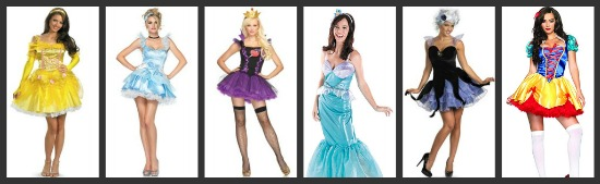 Disney Princesses Group Costumes Disney Group Halloween Costume