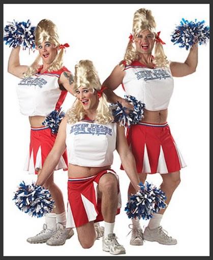 Men's Cheerleader Costume