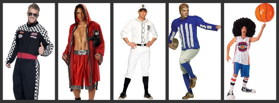 Men's Sports Halloween Costumes
