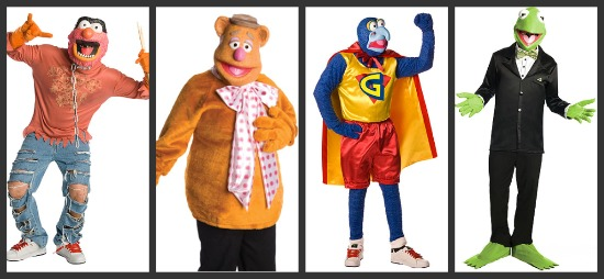Men's Muppet Halloween Group Costume