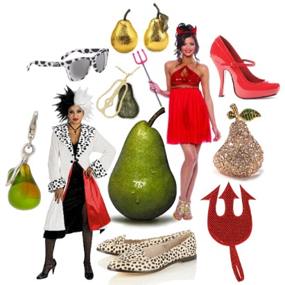 Pear Body Type Costumes