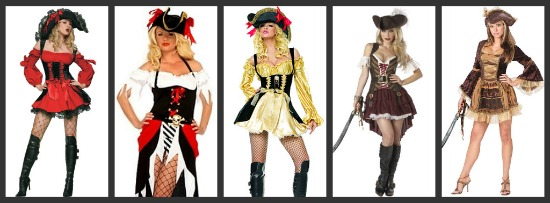 Sexy Pirate Halloween Costumes
