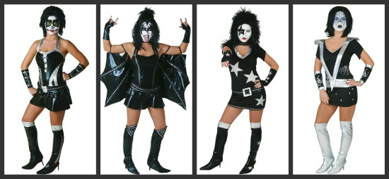 Sexy KISS Group Costume