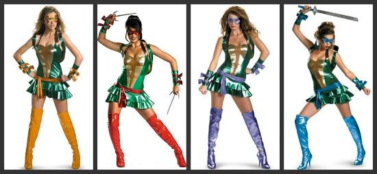 Ninja Turtles Halloween Costumes