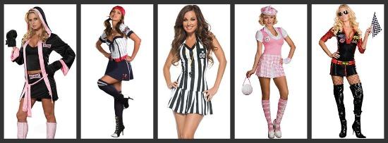 Sexy Sports Halloween Costumes