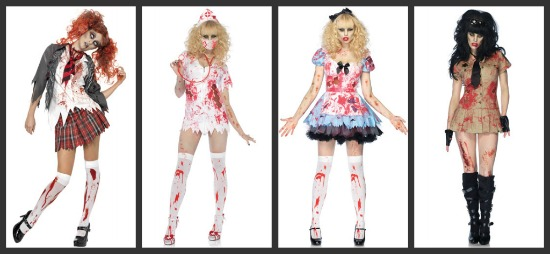 Sexy Zombie Group Costume  sc 1 st  Halloween Costumes & Group Costumes for Girls - Halloween Costumes Blog