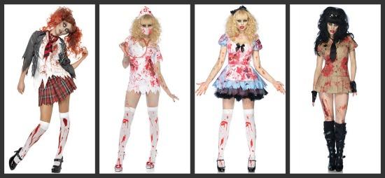 Sexy Zombie Group Costume