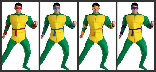 Adult Teenage Mutant Ninja Turtles Costumes
