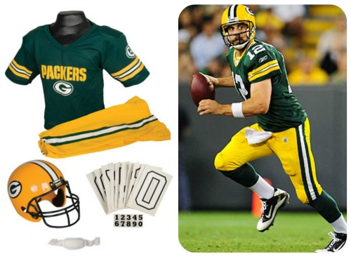 aaron rodgers costume - Halloween Costume Football