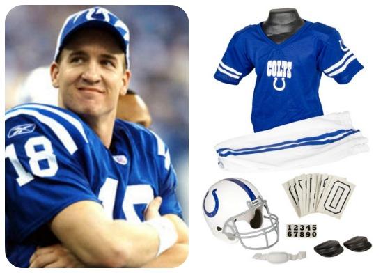 Peyton Manning costume
