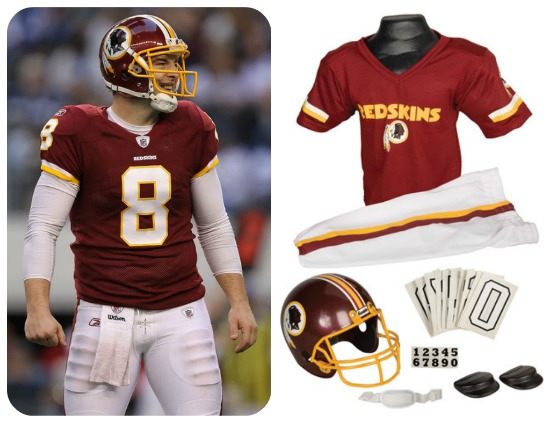 Washington Redskins uniforms