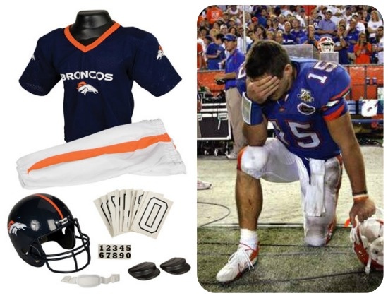 Tim Tebow costume