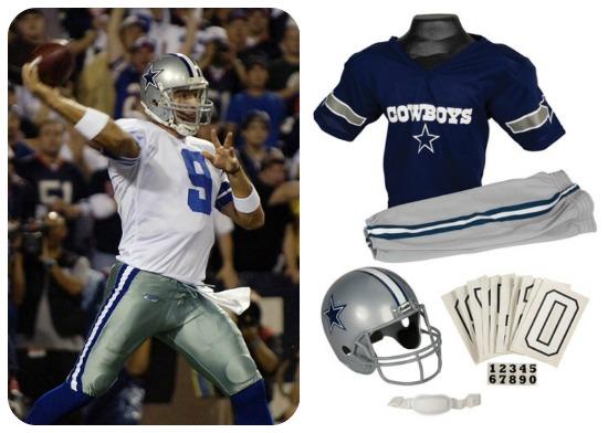 Tony Romo Halloween costume