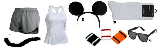 Athletic Three Blind Mice