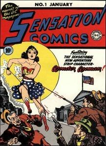 Wonder Woman Sensation Comics
