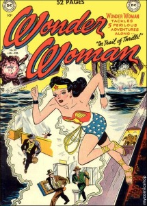 Wonder Woman Cloud Front