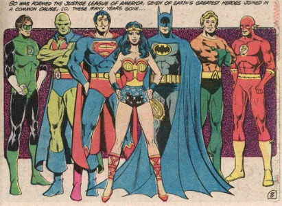Wonder Woman with Justice League