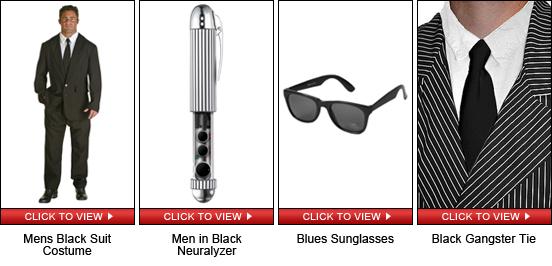 Men in Black Quick Shopping Guide